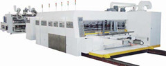Printer Slotter Die Cutter In Line Folder Gluer