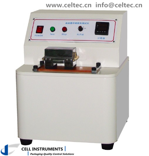 Printing Quality Ink Rub Tester
