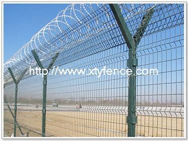 Prison Barbed Wire Fence Botanical Park