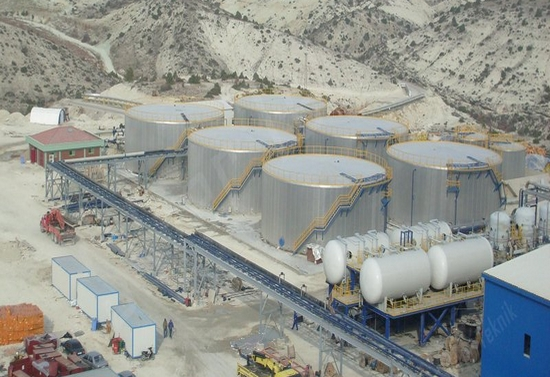 Production And Installation Of Fuel Plant Oil Storage Tanks