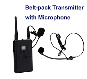 Professional 8 95 Channel Tour Guide Transmission Device For Speakers