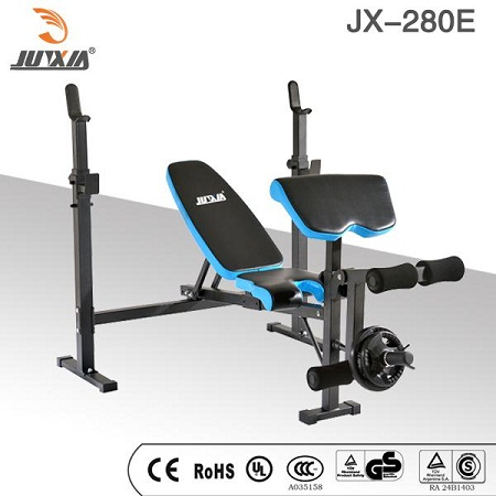 Professional Adjustable Olympic Weight Lifting Bench With Leg Developer Foldable