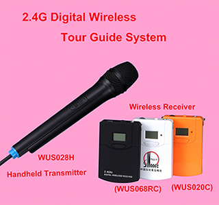 Professional Handheld Microphone For Teaching Training Wus028h