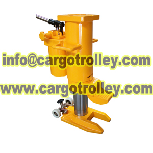 Professional Toe Jacks Capacity From 5t To 50t