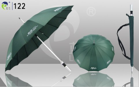Promotion Custom Logo Aluminum Auto Umbrella 122