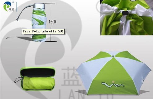 Promotion More Folding Pocket Super Light Mini Umbrella 501