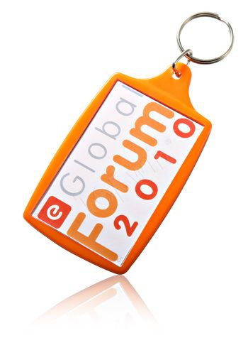 Promotional Acrylic Plastic Keychain