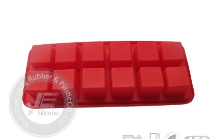 Promotional Custom Silicone Ice Cube Tray Cake Mould Bakeware Price Supplier Wholesale