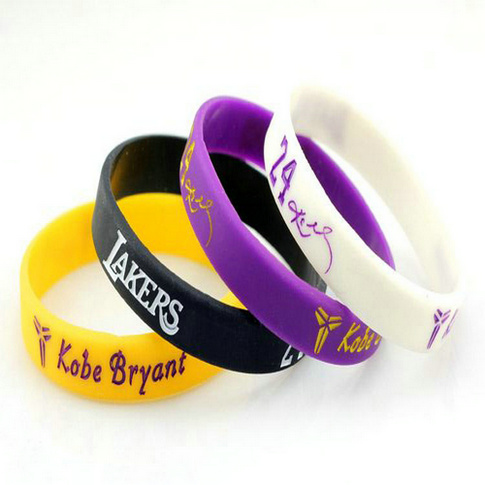 Promotional Gifts Logo Printed Custom Cheap Silicon Bracelet Customer Text And Personalized Si