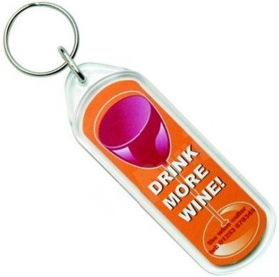 Promotional Oblong Acrylic Keychain
