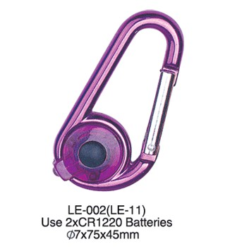Promotional Portable Carabiner Mental Keychain All Kinds Of Shapes