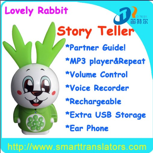 Promotional Toys For Kids St001 Mp3 Story Teller English Language