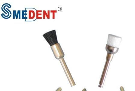 Prophy Brush Dental Nylon Or Bristle Wool Availbale