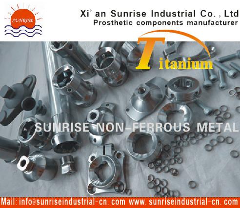 Prosthetic Component Titanium