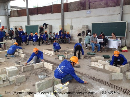 Providing The Best Masons From Vietnam Recruitment Agency