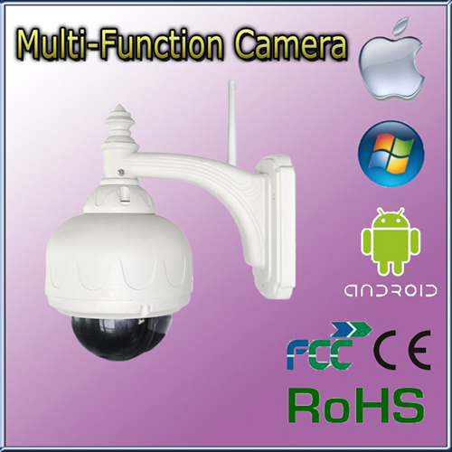 Ptz High Speed Dome H 264 Wifi Wireless Ip Network Camera