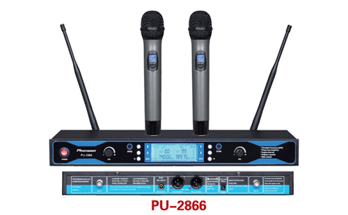 Pu 2866 Professional Uhf Wireless Microphone