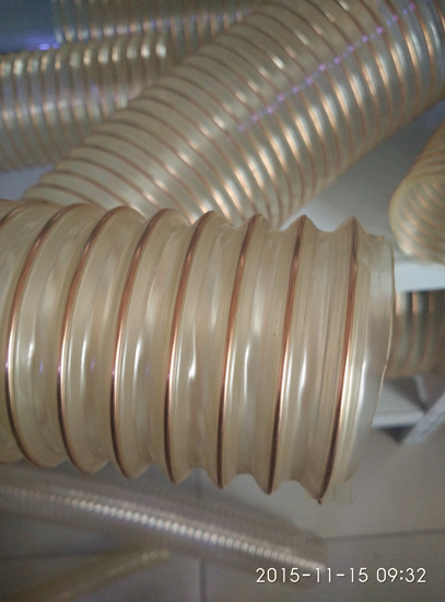 Pu Food Grade Stainless Steel Wire Hose Non Toxic
