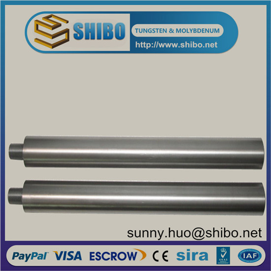 Pure Molybdenum Rod Moly Bar Electrode