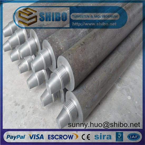 Pure Molybdenum Rod Moly Electrode For Glass Melting