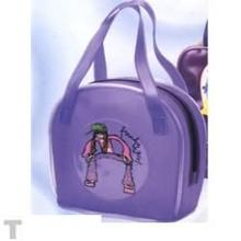 Pvc Bag With Handle And Color Print