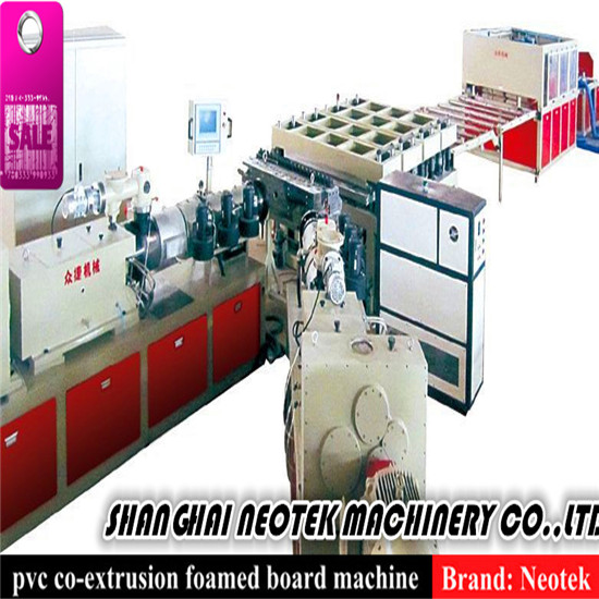 Pvc Co Extruded Foam Sheet Extrusion Line