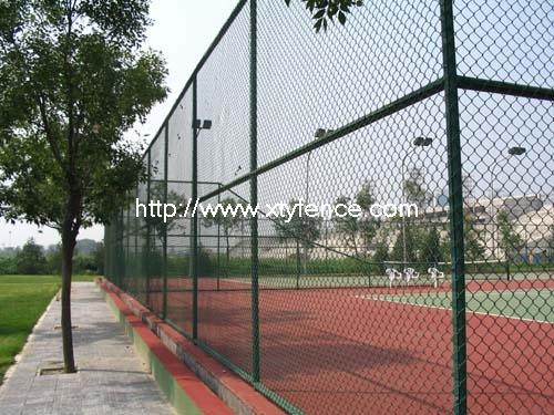 Pvc Coated Chain Link Stadium Fence