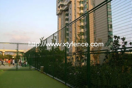 Pvc Coated Welded Sports Fence
