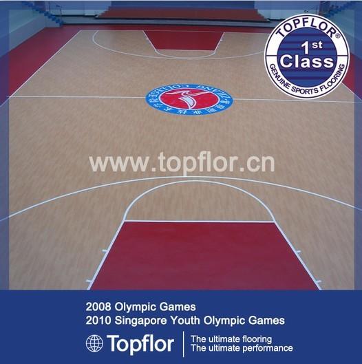 Pvc Flooring For Multi Sports