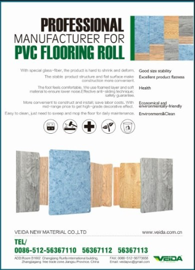 Pvc Flooring Roll Floor Covering