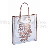 Pvc Gift Bag Handbag Tote Plastic Printed Promotional Market