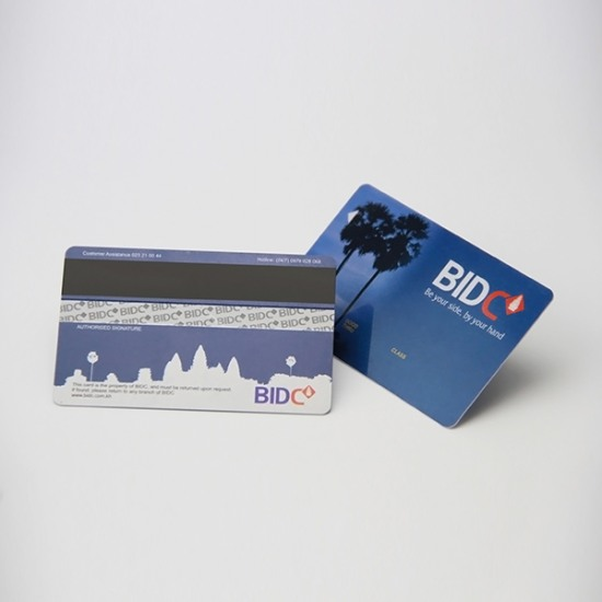 Pvc Magnetic Swipe Card