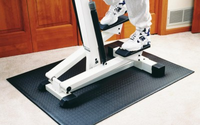 Pvc Mat Under Stepper 121 92 0 6cm