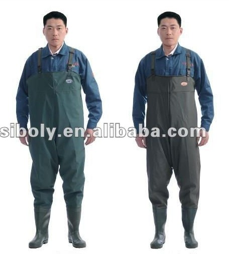 Pvc Pond Waders With Wide Applications