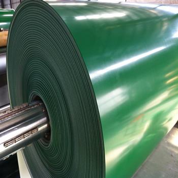Pvc Pu Heat Resistant Belt 5 0mm Green