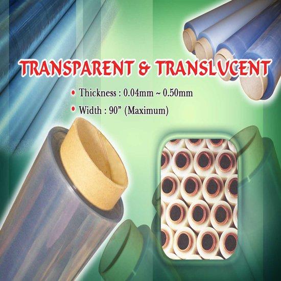 Pvc Transparent Clear Translucent Film