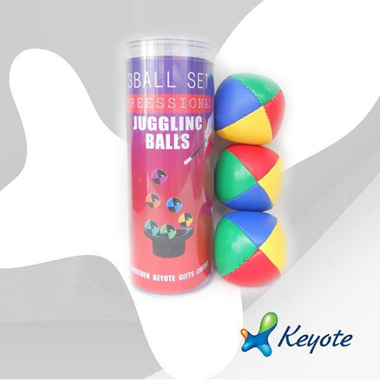 Pvc Tube Packing Juggling Ball