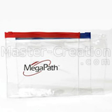 Pvc Zipper Bag Logo Personalized Advertisement Clear Gift