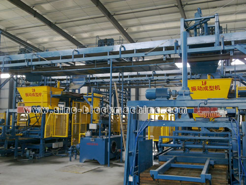 Qft 12 Concrete Block Making Machine