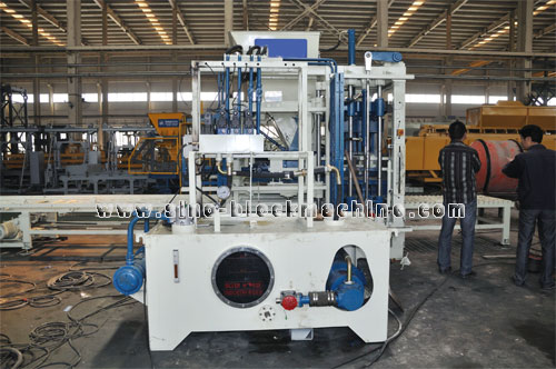 Qft 4 Concrete Block Making Machine