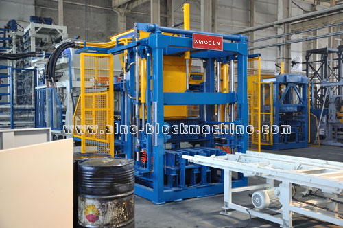 Qft 6 Concrete Block Making Machine