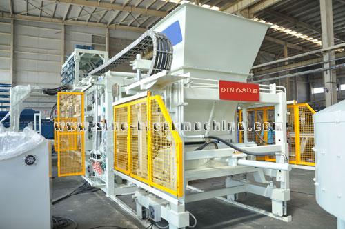 Qft 9 Concrete Block Making Machine