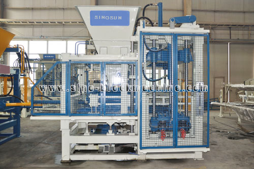 Qft6 Hollow Block Making Machine