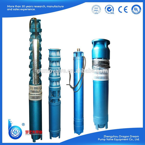 Qj Series Vertical Electric Deep Well Submersible Centrifugal Water Pump