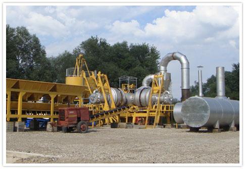 Qlb Mobile Asphalt Plant