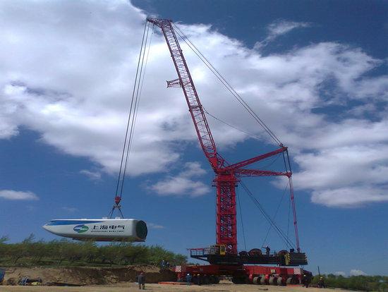 Qly1560 Wind Turbine Installation Crane 100t 90t