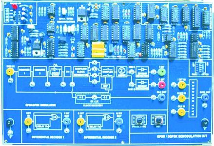 Qpsk Dqpsk Demodulation Trainer Tlb025