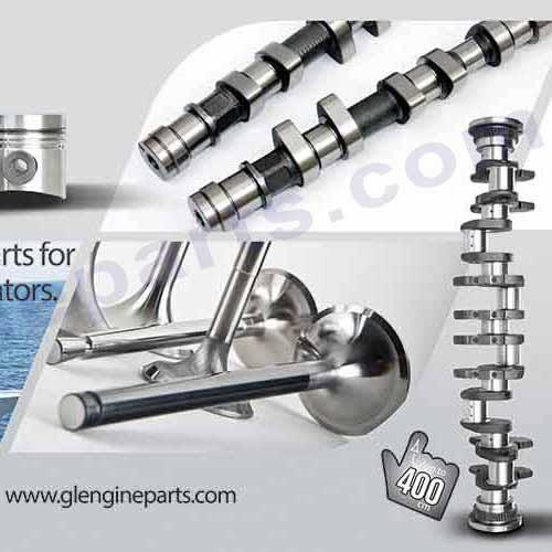 Qsk60 Qsk45 Crankshaft From Gl Engine Parts