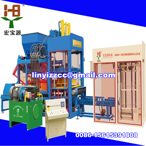Qtj10 15 Hydraulic Full Automatic Brick Making Machine
