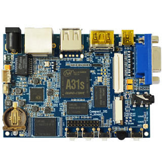 Quad Core Tiny Embedded Computer Compact 31s
